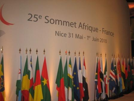 Sommet afrique france