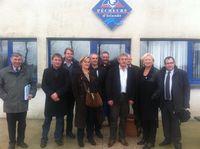 Visite d'entreprise  Canton de Fécamp - 23.11.2012
